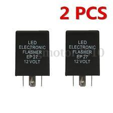 2PCS 5 PIN EP27 LED Flasher Relay Turn Signal Decoder Load Equalizer 12V