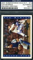 Tug Mcgraw Autograph Psa/dna 2001 Sunoco Mets Authentic Signed