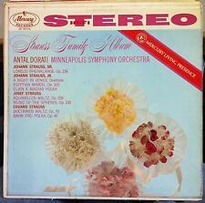 Dorati - Strauss Family Album LP VG+ SR 90178 Mercury Living Stereo USA CTFR-1