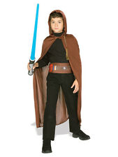 Licensed Child Jedi Knight Star Wars Kids Fancy Dress Costume + Lightsaber