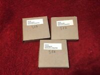 HEIM AIRCRAFT BEARING SLEEVES P/N MS21240-04A008 LOT OF 12 NEW SURPLUS IN BOXES
