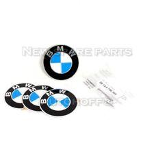 Genuine BMW 5 6 7 8 Series Wheel Center Hub Emblem Sign Logo Stickers x4 70mm
