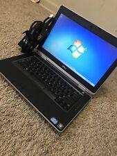 Dell Latitude E6430 Laptop i7-3540MC-320GB -8GB-Win 7-Web cam-2.70Gh