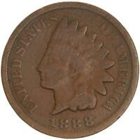 1888 Indian Head Cent Good Penny GD