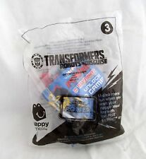New TRANSFORMERS Robots in Disguise OPTIMUS PRIME 2015 McDonalds Toy #3 Figure