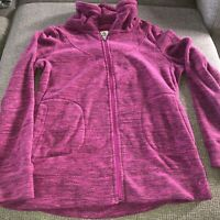 Alpine Design Womens Size Large pink fleece full-zip jacket