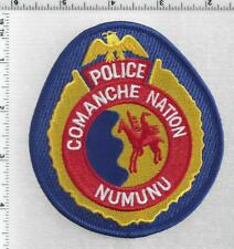 Comanche Nation Police (Oklahoma) 1st Issue Shoulder Patch