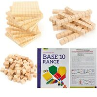 Base Ten Maths Blocks MAB Teachers Resources for Place Value Student Activities