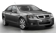 Holden Caprice  Boot Lip Spoiler-BLACK