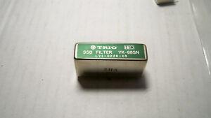 KENWOOD YK-88SN NARROW SSB Filter solder type #3h5