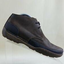 G.H. Bass Earth Mens Brown Leather Chukka Boots Hiking Size 9D #G40