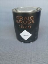 Craig & Rose 1829 Chalky Emulsion - Iona white  - 750ml wall&siling 7-9sqm cover