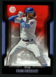 Kris Bryant 2021 Topps Rip Card Red Parallel 49/50 SP Cubs UNRIPPED