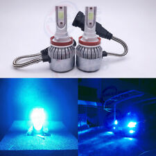 NEW H8 H9 H11 H16 8000K Ice Blue 8000LM CREE LED Headlight Bulbs Kit High Low