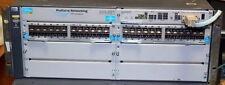 HP ProCurve 5406ZL-48G SFP J8697A 2x J8706A and 1x J8712A   48xSFP 6xAvailable