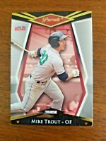 "MIKE TROUT 2011 TRISTAR CARD # 1 ANGELS ""2010 MINOR LEAGUE ROOKIE OF THE YEAR"""
