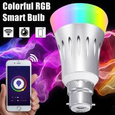 B22 Wireless WiFi APP Remote Control Smart Bulb Light For Echo Alexa Google Home