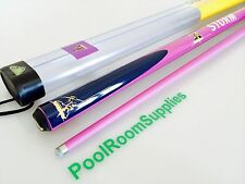 NRL Melbourne Storm Pool Snooker Billiard Cue with Tube Cue Case Rugby League