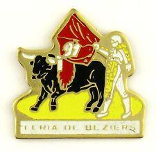 PINS TOURISME VILLE DE NIMES - CORRIDA FERIA 1991 DE BEZIERS
