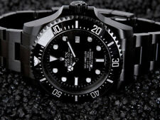 Rolex Sea-Dweller Deepsea PVD/DLC Coated Stainless Steel 44mm Watch 116660