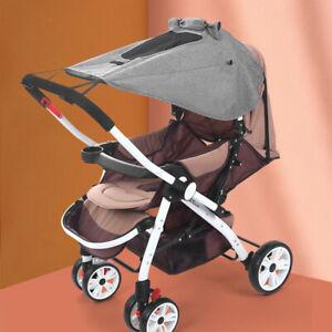 Universal Baby Stroller Pram Buggy Sun Shade  Pushchair Canopy Protection Sun .