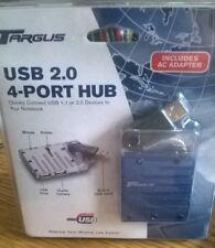 Targus High Speed USB 2.0 1.1 4 Port Powered Hub (PC Laptop Printer) PAUH216Y06E