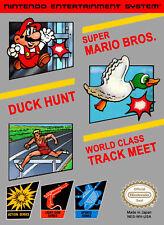 3-IN-1 Super Mario Bros / Duck Hunt / World Class Track Meet For Nintendo 4E