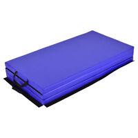 "6'x4'x2"" Thick Folding Gymnastics Gym Fitness Exercise Pilates Yoga Foam Mat Pad"