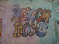 Vintage 90's THE BEACH BOYS Tie Dye Liquid Blue Concert Tour T Shirt Adult Sz M