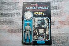 At-St Driver +Carte+ Coin / Star Wars vintage Kenner POTF Action Figure*