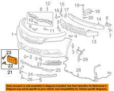 Chevrolet GM OEM 14-16 Impala Front Bumper Grille-License Bracket 22812521