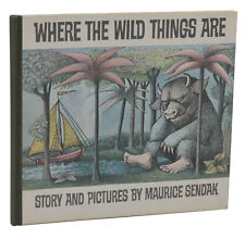 Where the Wild Things Are ~ MAURICE SENDAK ~ First Edition 1st Print 1963 ~ FINE