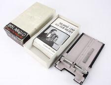 4x5 POLAROID FILM HOLDER MODEL 500, BOXED/209618
