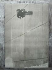 BURTON snowboards 2013 JEREMY JONES HANNAH TETER 2 sided poster ~NEW condition~!
