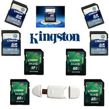 Kingston 4GB 8GB 16GB 32GB 64GB SD SDXC Class 4 10 Memory Flash Card For Camera