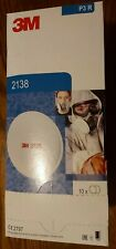3M 2138 Disk Particulate Filter  expiry up to 02/2023 Factory sealed One Pair