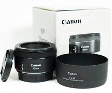 Canon EF 50mm F/1.8 EF STM Lens for Canon - Boxed