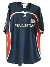 New England Revolution Soccer Jersey Size XL Adidas