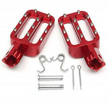 Red New Pit Bike Motorcycle CNC Aluminium Foot Pegs Peg For CRF XR PW50 PW80