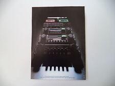 advertising Pubblicità 1979 AUTORADIO VOXSON