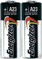 2 NEW A23 Energizer BULK Batteries 12v Batteries GP23 23A MN21 USA Seller