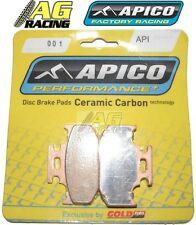 Apico céramique plaquettes de frein Arrière Carbone Kawasaki KLX 650 1993-1996 93-96 KLX650 nouveau