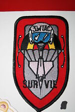 BELGIUM BELGIAN AIR FORCE AIRFORCE SQUADRON  CLOTH PATCH #86
