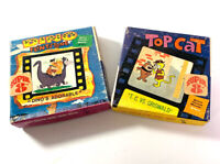 Lot Of Two Vintage Super 8 Films -Top Cat & Dino Flintstone Silent Home Movies
