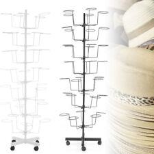 Adjustable Iron Hat Rack Stand Hanger Display Storage Rotating support 35 Hats!