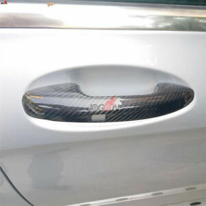 Carbon Fiber Door Handle Cover For Mercedes Benz A Class W177 V177 2018 2019 LHD