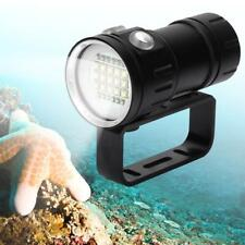 Underwater Scuba Diving LED Flashlight Waterproof Lamp Photography Light Torch