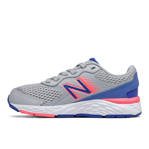 New Balance Running Shoes Girl Grey Pink YP680BL6
