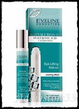 EVELINE Eye Lifting Roll-on Hyaluron ACID + Stem CELLS  4D Wrinkle Filler 15ml
