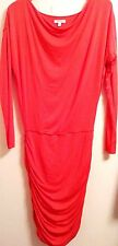ATHLETA Coral Modal/Wool/Spdx Cowl Neck Casual/Career 'Solstice' Dress SIZE S